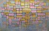 Tableau no 2 / Composition no V, by Piet Mondriaan