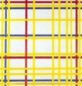 Piet Mondrian New York City I
