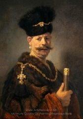 Rembrandt A Polish Nobleman