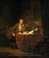 Rembrandt A Scholar in his Study