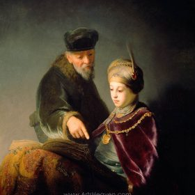 A Young Scholar and his Tutor