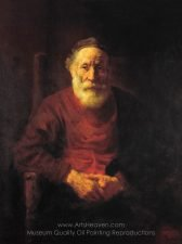 rembrandt-an-old-man-in-red