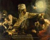 Rembrandt Van Rijn Belshazzar's Feast