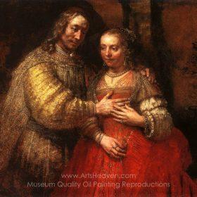 Rembrandt Van Rijn The Jewish Bride