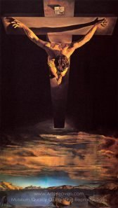 Salvador Dali Christ of St. John of the Cross
