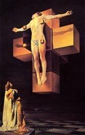Salvador Dali Crucifixion (Corpus Hypercubicus)