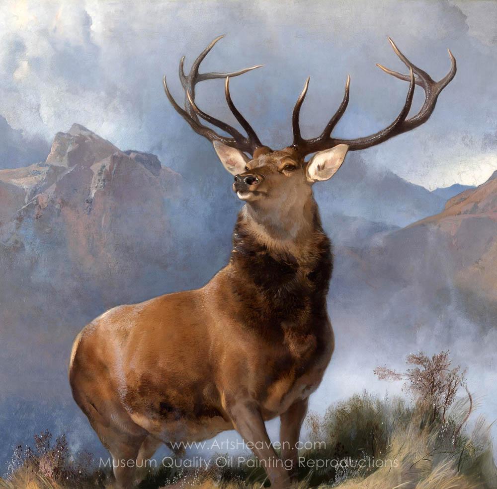 Edwin Landseer The Monarch of the Glen