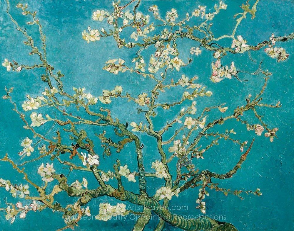 Vincent Van Gogh Blossoming Almond Tree
