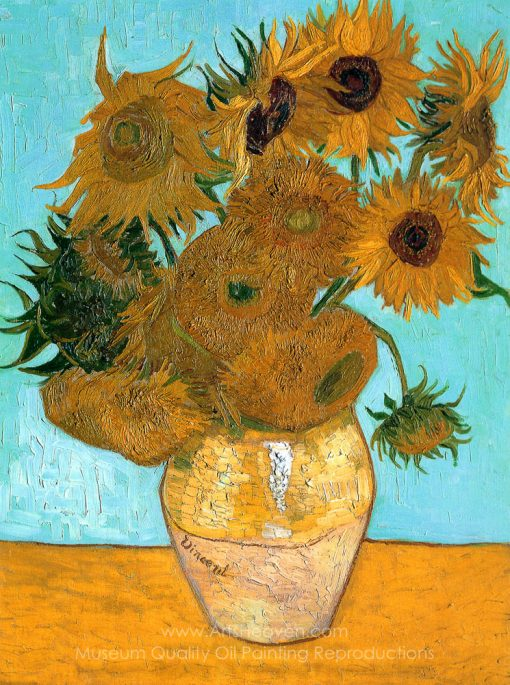 Sunflowers (12 in a Vase)