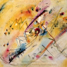 Wassily Kandinsky Bright Picture