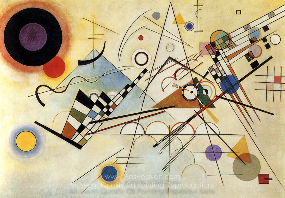 Wassily Kandinsky Composition VIII (No. 8)