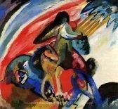 wassily-kandinsky-improvisation-12-rider