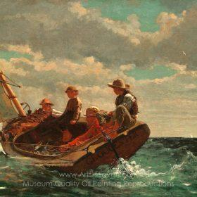 Winslow Homer Breezing Up A Fair Wind