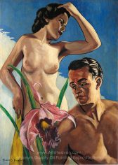 Francis Picabia Adam and Eve