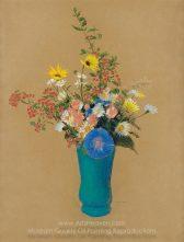 odilon-redon-Bouquet of flowers 3
