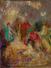 Odilon Redon CHRIST AND HIS DISCIPLESRS