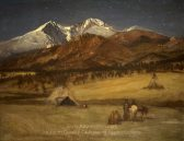 albert-bierstadt-indian-encampment-evening
