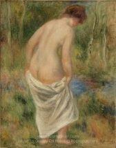 Pierre Auguste Renoir After the Bath