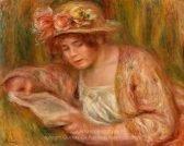 Pierre Auguste Renoir Andree in a Hat Reading