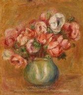 Pierre Auguste Renoir Anemones