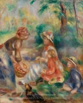 Pierre Auguste Renoir Apple Vendor